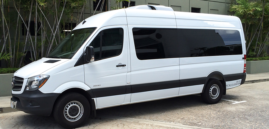 Mercedes Sprinter Van Shuttle Service Honolulu - XS Limousine
